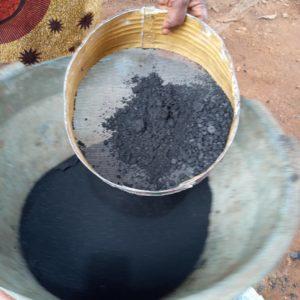 tamis à charbon